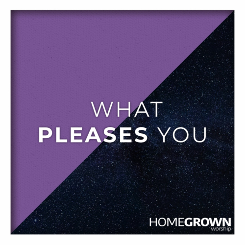 Homegrown Worship - What Pleases You