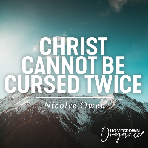 Christ Cannot Be Cursed Twice